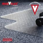3. Marvelux Polycarbonate Office Chair Mat Carpets thumbnail