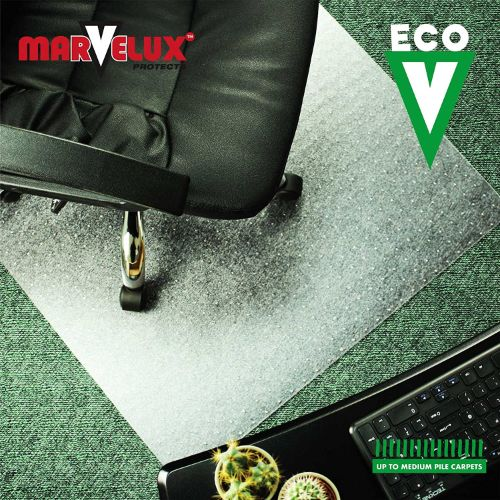 5.Marvelux Enhanced Polymer Eco-Friendly Office Chair Mat