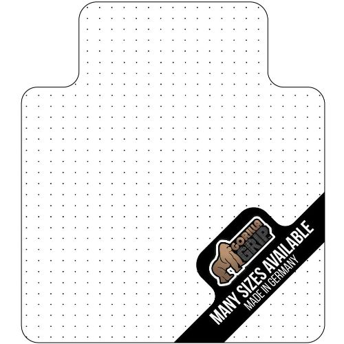 6.Gorilla Grip Premium Polycarbonate Studded Chair Mat